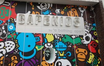 BAPE KIDS by a bathing ape® 原宿・神宮前の詳細な画像です。