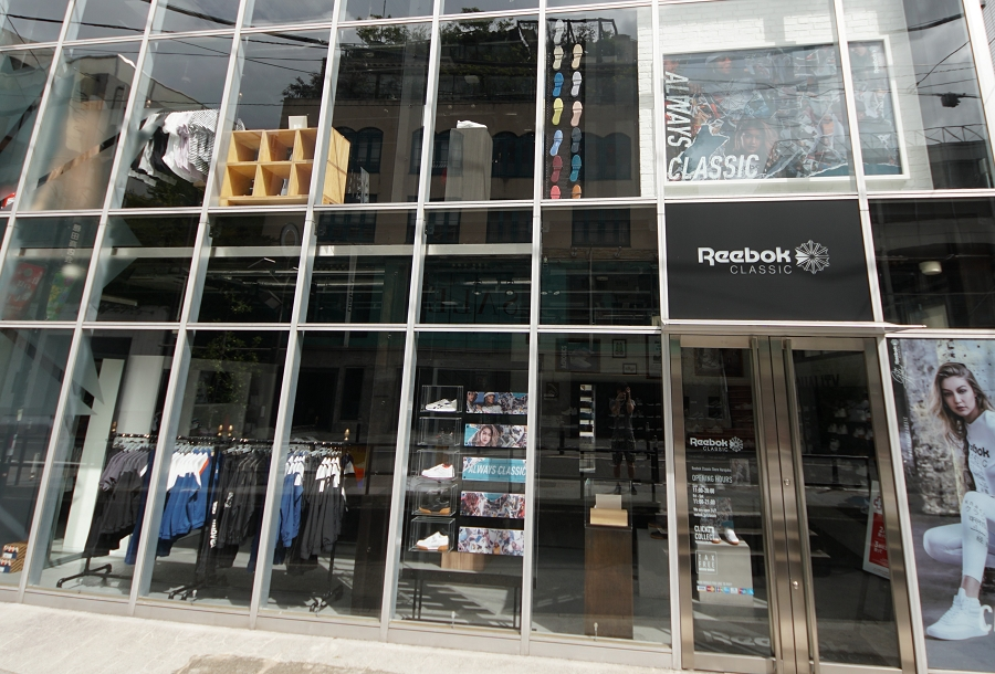 Reebok Classic Store Harajuku リーボック クラッシックストア 原宿