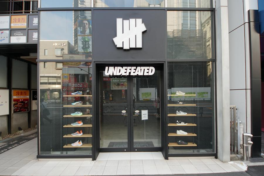 UNDEFEATED HARAJUKU MEIJI DORI アンディフィーテッド  原宿明治通り店