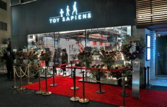 TOY SAPIENCE(トイサピエンス)東京 原宿 明治通りのオープン時の様子