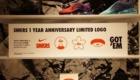 NIKE KICKS LONGE OMOTESANDO SNKRS 1 YEAR ANNIVERSARY カスタマイゼーション