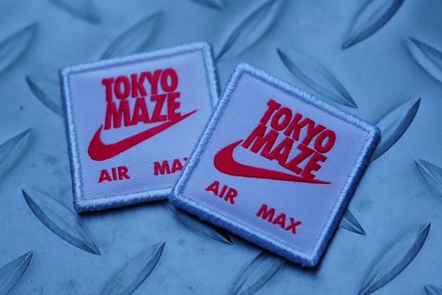 NIKE AIRMAX 1 OA YT TOKYOMAZE(エアマックス1トウキョウメイズ)宅万勇太 シュータン パッチ