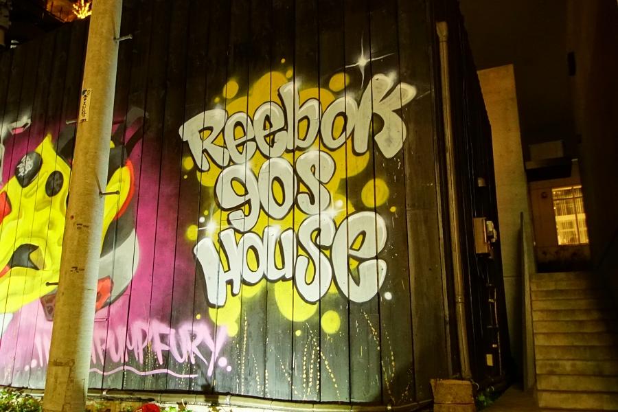 Reebok 90s House Special Live リーボック 90s ハウス スペシャルライブ アートワーク