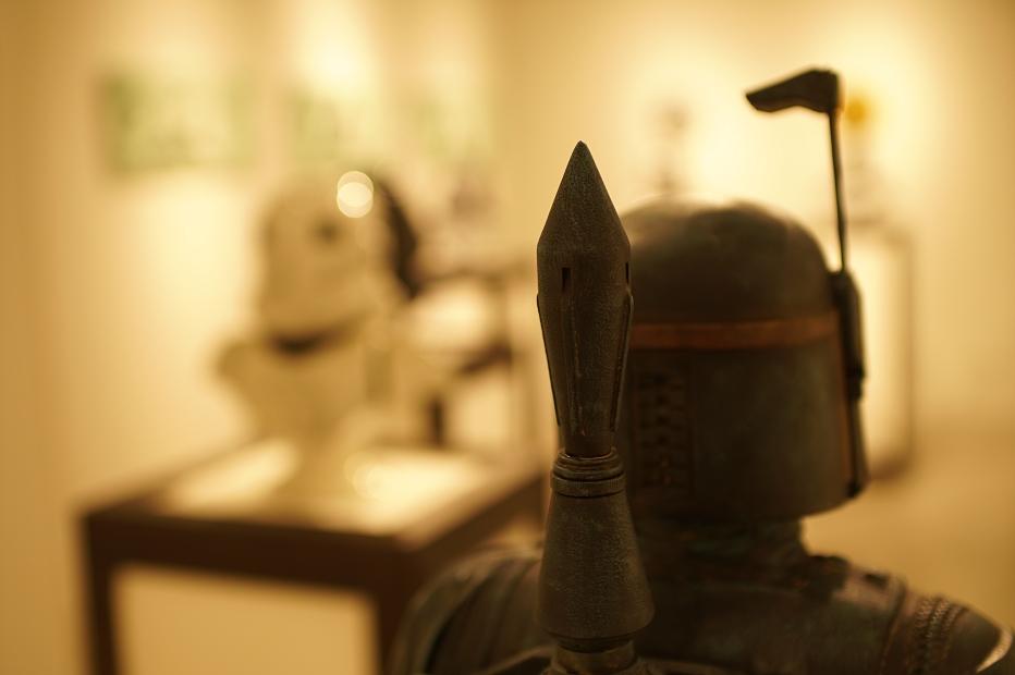 Keo.W Hidden Force Exhibition at atmos ginza(ケオ・ダブリュー スターウォーズ アトモス銀座) BOBA FETT(ボバフェット)