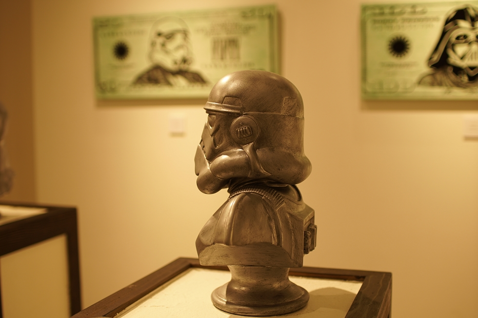 Keo.W Hidden Force Exhibition at atmos ginza(ケオ・ダブリュー スターウォーズ アトモス銀座)