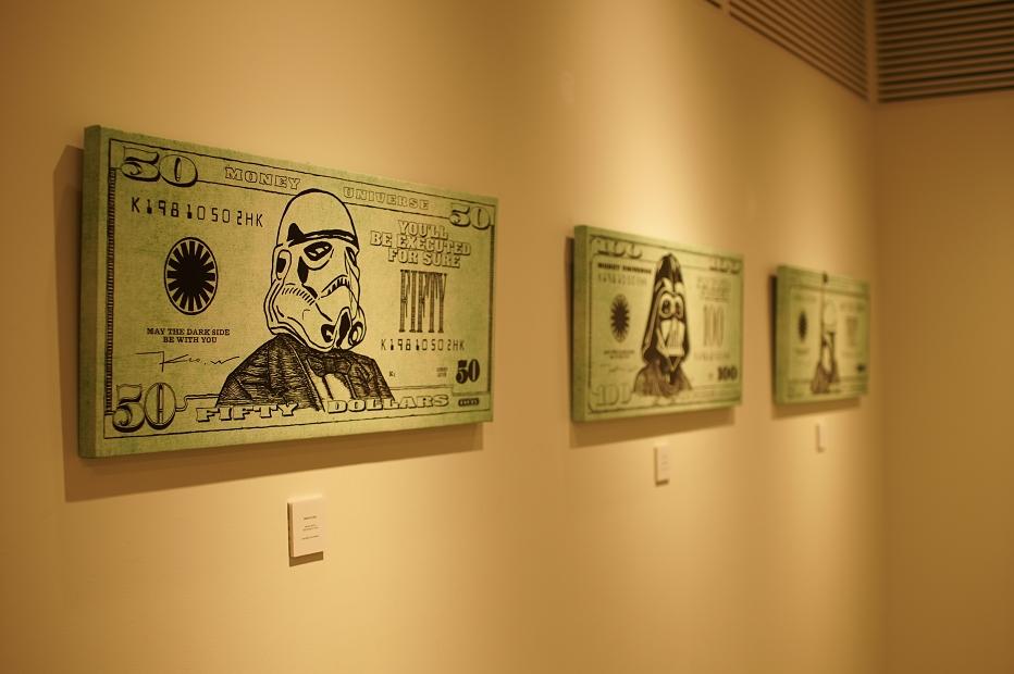Keo.W Hidden Force Exhibition at atmos ginza(ケオ・ダブリュー スターウォーズ アトモス銀座) 作品