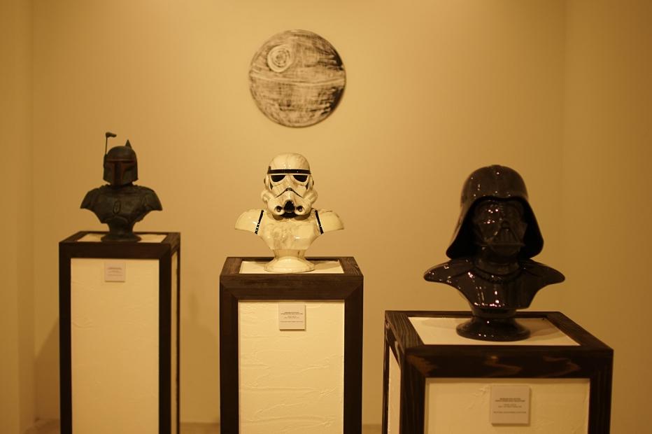 Keo.W Hidden Forth Exhibition at atmos ginza(ケオ・ダブリュー スターウォーズ アトモス銀座)