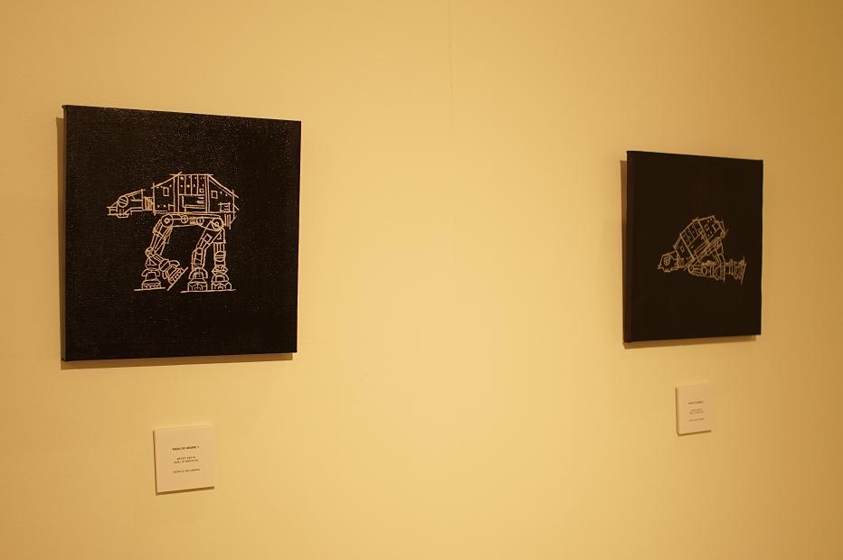 Keo.W Hidden Force Exhibition at atmos ginza(ケオ・ダブリュー スターウォーズ アトモス銀座) ROAD OF DESIRE