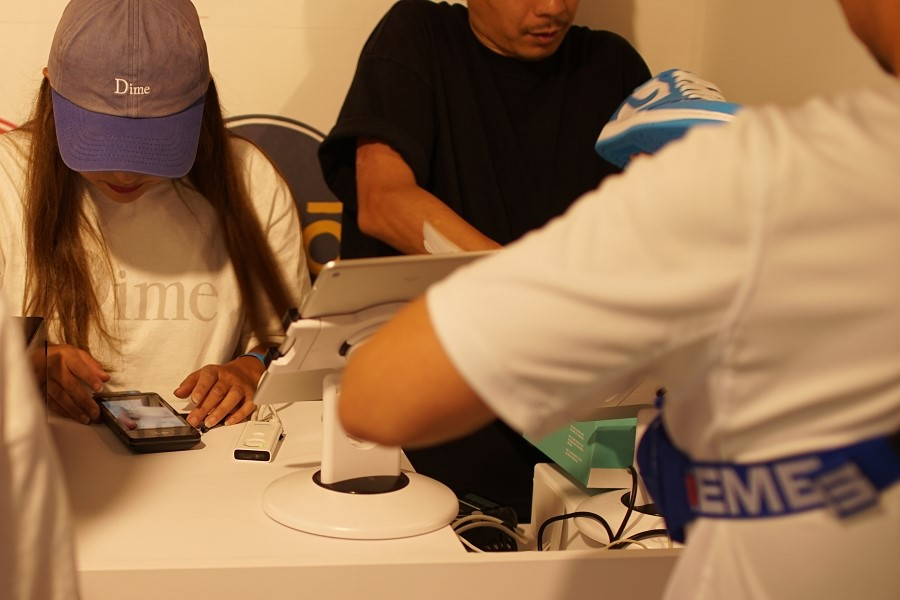 Nike SB dojo SNKRS STASH UNLOCK(アンロック)後 レジ 支払い