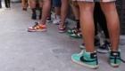 Nike SB dojo SNKRS STASH UNLOCK(アンロック)後 購入 行列