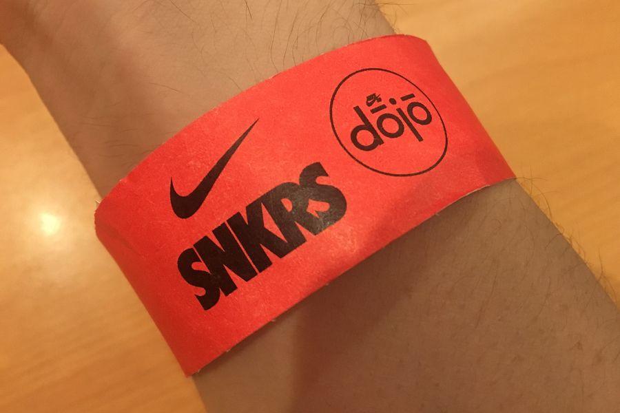 Nike SB dojo(ナイキ SB ドージョー) 入場パス