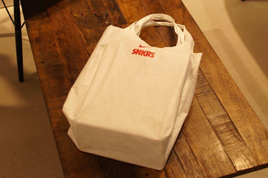 NIKE SNKRS(ナイキ スニーカーズ) ショッピングバッグ 袋