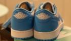 Nike SB x AIR JORDAN 1 LOW UNC(エア ジョーダン1 ロー ノースカロライナ) ヒール