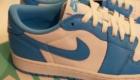 Nike SB x AIR JORDAN 1 LOW UNC(エア ジョーダン1 ロー ノースカロライナ) サイド スウッシュ