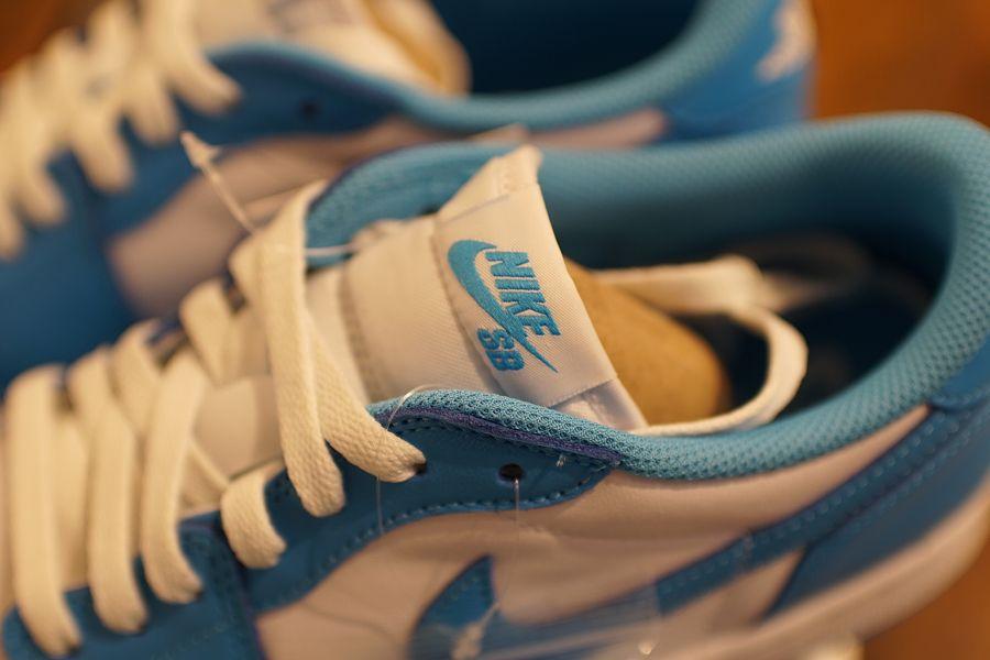Nike SB x AIR JORDAN 1 LOW UNC(エア ジョーダン1 ロー ノースカロライナ) アッパー シューレース