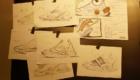 スター・ウォーズ スウィフトフィッシュ(STAR WARS Swiftfish) プラモデル カスタマイズ パーツ スケッチ