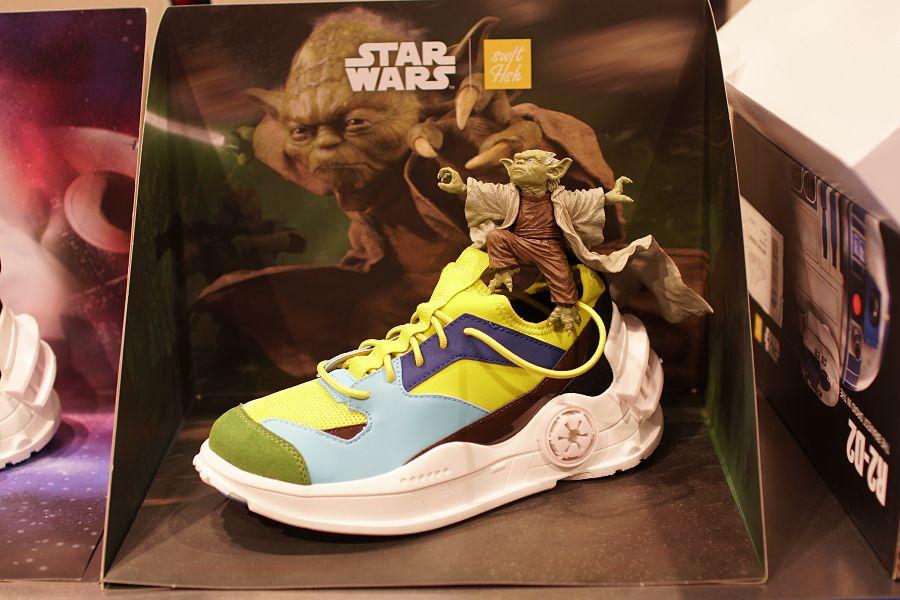 スターウォーズ スニーカー スウィフトフィッシュ(STARWARS Swiftfish) PG-01 ヨーダ(Yoda)