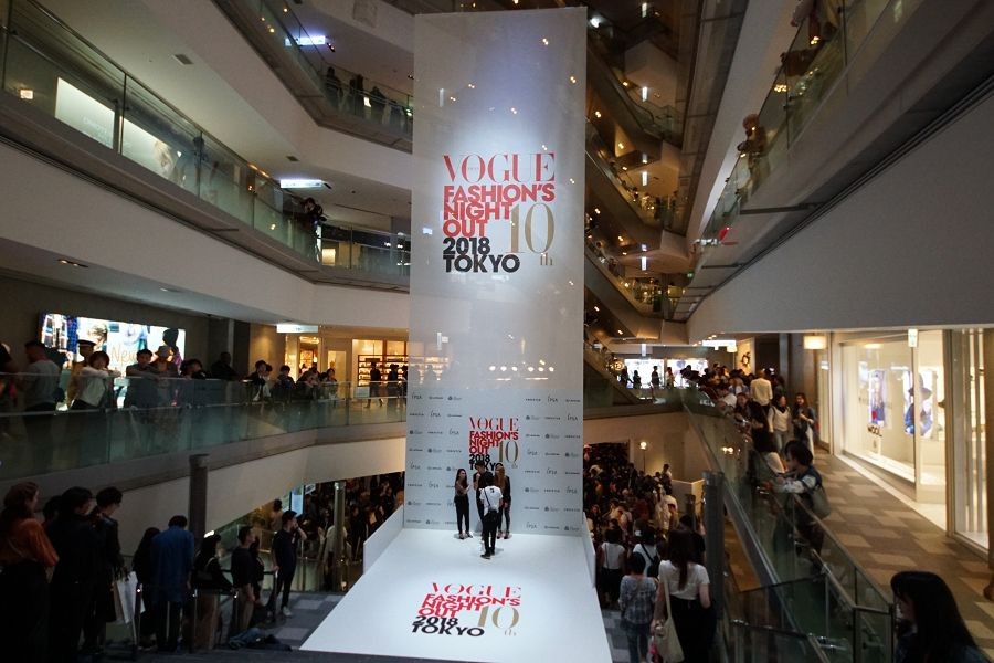 FASHION'S NIGHT OUT TOKYO @表参道ヒルズ