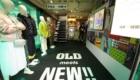 ラコステ ポップアップストア LACOSTE OLD meets NEW!! 店内