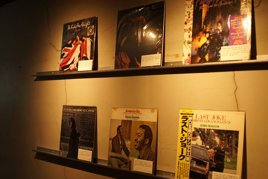 ginza paradise records powered by diskunion Ginza Sony Parkレコードショップ
