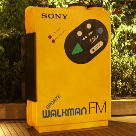 WALKMAN IN THE PARK オブジェ @ 銀座ソニーパーク(ginza sony park)