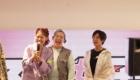 ゆりやん 光永(ひなた)スニーカー 女子会 アトモス ピンク 3時のヒロイン アンソニー フラッグシップ 原宿 (atmos pink flagship Harajuku) レセプションパーティ