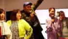 スニーカー 女子会 アトモス ピンク 3時のヒロイン アンソニー フラッグシップ 原宿 (atmos pink flagship Harajuku) レセプションパーティ