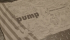 "Reebok INSTAPUMP FURY BOOST prototype (リーボック インスタポンプ フューリー ブースト プロトタイプ) 包み紙 デザイン ""PUMP"""