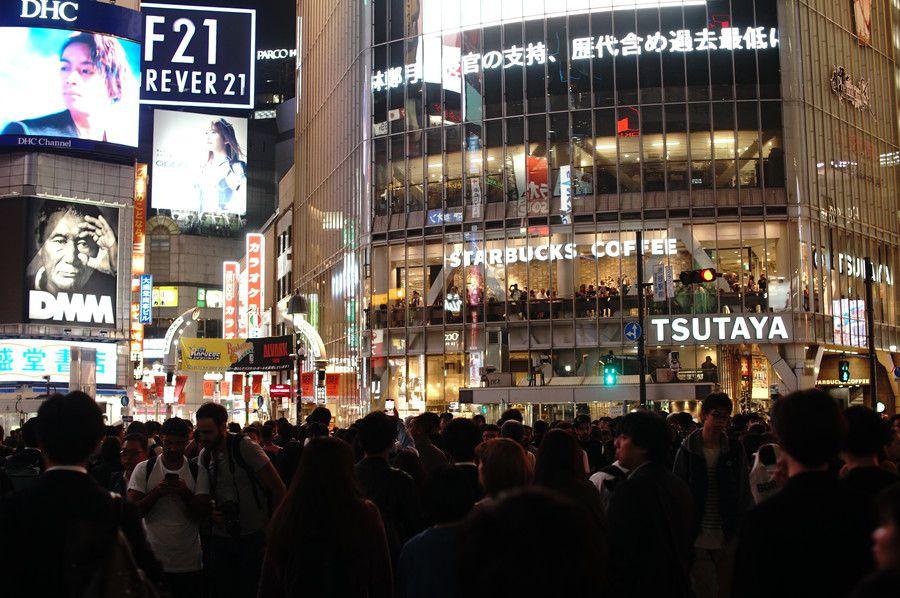 渋谷 ハロウィン 2019 スクランブル交差点