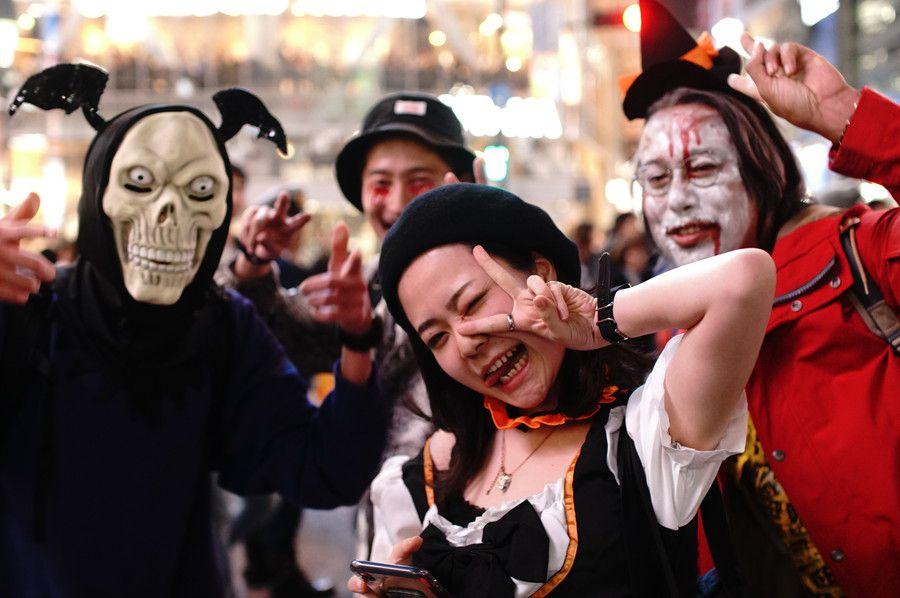 渋谷 ハロウィン 2019 仮装