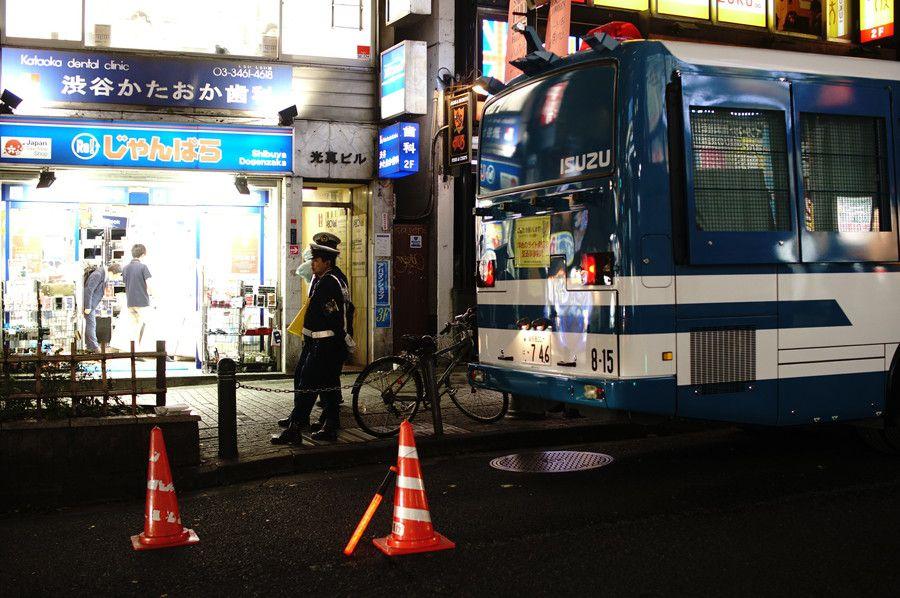 渋谷 ハロウィン 2019 警備
