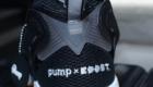 インスタポンプ フューリー ブースト(Instapump Fury Boost) ブラック&ホワイト Black & White 黒/ブラック ヒール PUMPx BOOST ロゴ