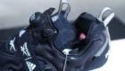 インスタポンプ フューリー ブースト(Instapump Fury Boost) ブラック&ホワイト Black & White 黒/ブラック シュータン部分 リップストップナイロン