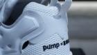 インスタポンプ フューリー ブースト(Instapump Fury Boost) ブラック&ホワイト Black & White 白/ホワイト ヒール部分 クリアパーツ