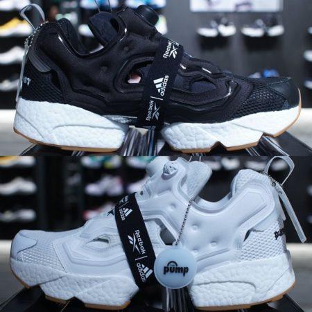 インスタポンプ フューリー ブースト(Instapump Fury Boost) ブラック&ホワイト Black & White