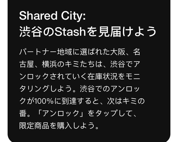 SNKRS STASH (SHARED STASH) の展望・予想 準備