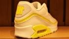 エアマックス90 アンディフィーテッド AIR MAX 90 UNDEFEATED ホワイト/イエロー 白/黄色 ヒール