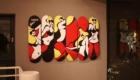 BILLY'S ENT HARAJUKU (ビリーズ エンター 原宿) 店内2F アート スケートボード