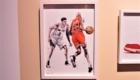 DAI TAMURA (田村大) アート NBA バスケットボール
