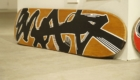 sneakerwolf(スニーカーウルフ) アート スケートボード