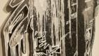 sneakerwolf(スニーカーウルフ) アート作品 ディテール 立体感 陰影