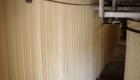 江戸玉川屋 製麺 乾燥工程 麺のカーテン